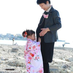 七五三/家族写真/ファミリーフォト/記念写真/葉山/海