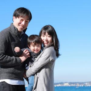 キッズフォト/ファミリーフォト/家族撮影/海/葉山